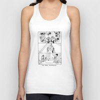 tenenbaums Tank Tops featuring The Royal Tenenbaums by La Tia Pereques