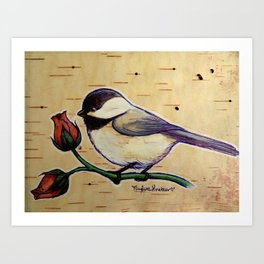 Smol Wildbird Art Print