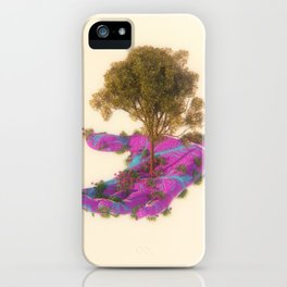 FLOWS iPhone Case