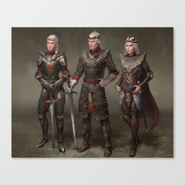 Dragon Riders Canvas Print