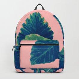 Greenery on Blush Backpack
