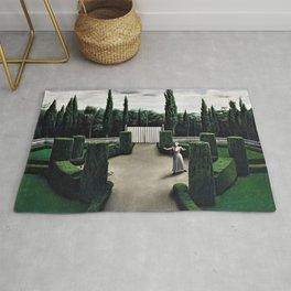 Classical Masterpiece 'Florentine Garden' by Pyke Koch Rug