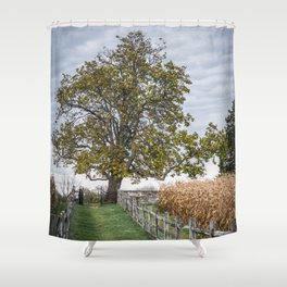 Mumma Cemetery Antietam National Battlefield Civil War Battleground Maryland Shower Curtain