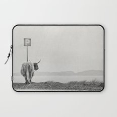 highland visitor Laptop Sleeve