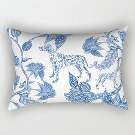 BLUE BATIK WEIMS Rectangular Pillow