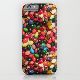 Gourmet Jelly Beans Candy Photo Pattern iPhone Case