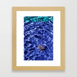 Upward Amethyst Vibes Framed Art Print