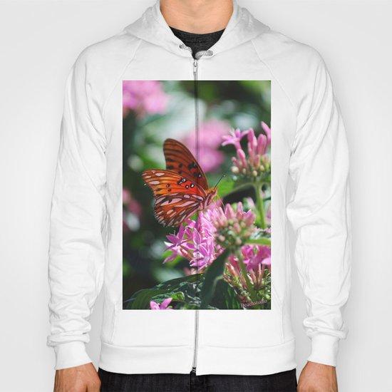 Butterfly In Pink Hoody
