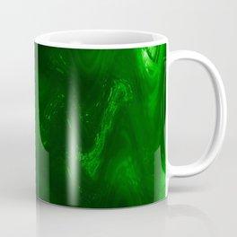 Dark green grunge Coffee Mug