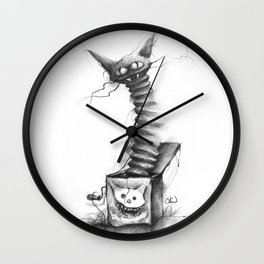 The Nightmate in the Box Wall Clock