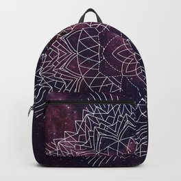 Geometric Space Mandala Backpack