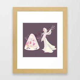 Sakura Jelly Framed Art Print