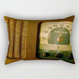 AM/FM Rectangular Pillow