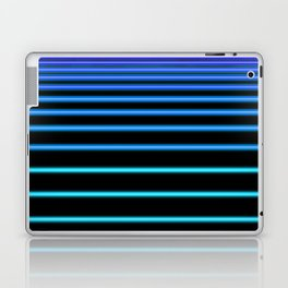 Turquoise to Blue Neon Laptop & iPad Skin