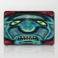 the cure iPad Cases featuring No Cure For Ugly by Gene S Morgan