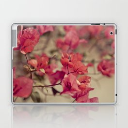 Red Flowers #2 Laptop & iPad Skin
