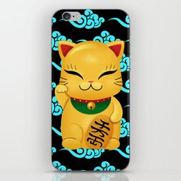 Maneki neko iPhone Skin