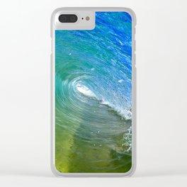Dream Cave Clear iPhone Case