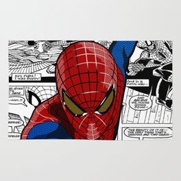 Spider-Man Comic Rug