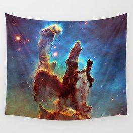 Hubble Telescope: Pillars of Creation Wall Tapestry