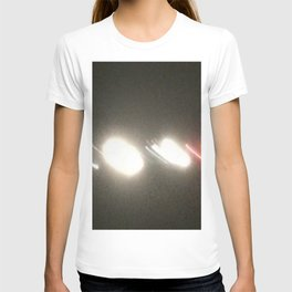 Abstracte Light Art in the Dark Version 34 T-shirt