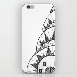 Chrysler Building Drawing iPhone Skin