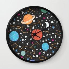 Astrology Pattern Wall Clock