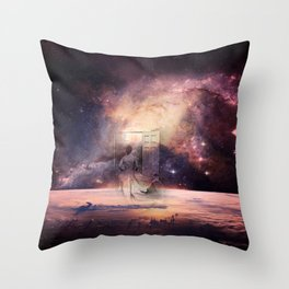 abstarct art Throw Pillow
