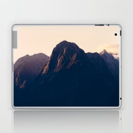 Sunset over Milford Sound in New Zealand Laptop & iPad Skin