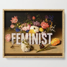 Feminist II Serving Tray