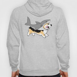 Another Corgi in a Shark Suit Hoody