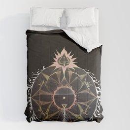 Saraswati Mandala Black Comforters