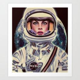 Le Cosmonaute Art Print