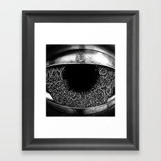 Ominous Eye Framed Art Print