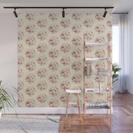Flower pattern. Wall Mural