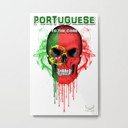 To The Core Collection: Portugal Metal Print
