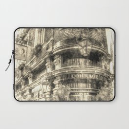 The Cockpit Pub London Vintage Laptop Sleeve