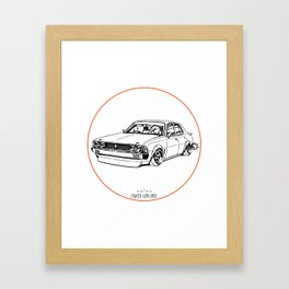 Crazy Car Art 0204 Framed Art Print