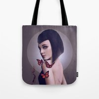 rogue Tote Bags featuring Rogue by Whendell
