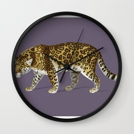 Fierce Jaguar Wall Clock