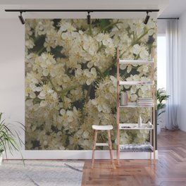 flower and light - White flower 4 Wall Mural