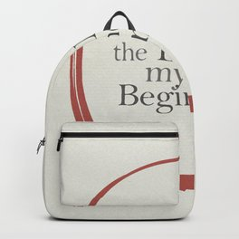 Tiziano Terzani, Bruno Ganz, Germano, The end is my beginning. La fine è il mio inizio, Movie Poster Backpack