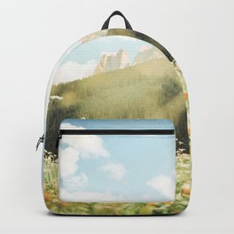 meadow in the mountains Backpack