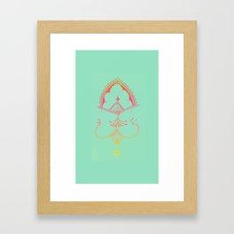 Handrawn,  Framed Art Print