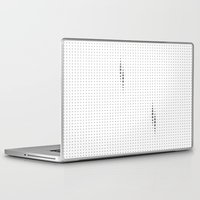 dots Laptop & iPad Skins featuring Dots by rob art | simple