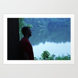 Soul Searching Reflections Art Print