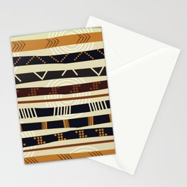 African Tribal Pattern No. 35 Stationery Cards