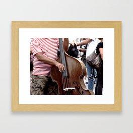 Striped Bass Framed Art Print