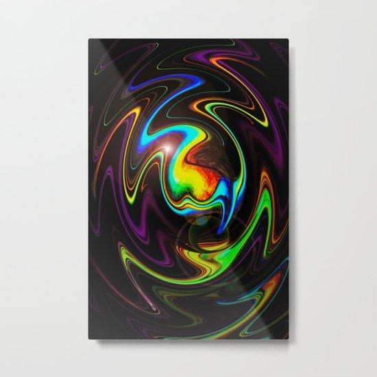 Abstract Perfection Metal Print