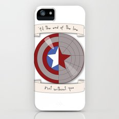 Steve Rogers and Bucky Barnes Shield iPhone (5, 5s) Slim Case